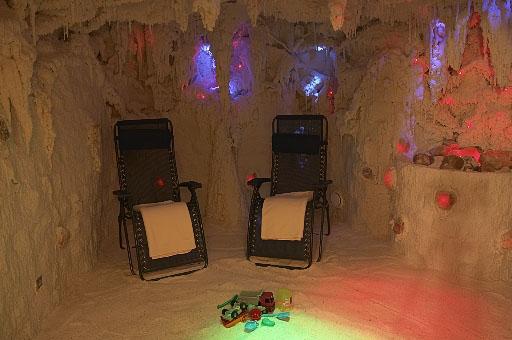 SALINERA solná jeskyně - interiér - kliknutím zvětšíte náhled